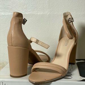 Nude chunky heels! New!